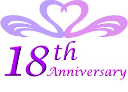 18th anniversary gifts 18th wedding anniversary cotton print 18th wedding gift 18 years