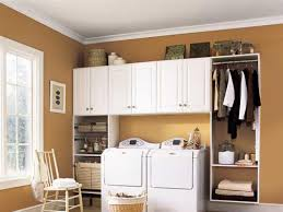 Laundry Room Wall Decor by Wondrous Laundry Room Cabinets With Enhancing Color And Decors