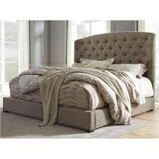 b657 58 ashley furniture gerlane dark brown king poster bed