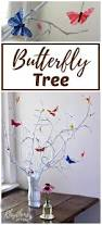 Tree Branch Home Decor Simple Diy Butterfly Tree Centerpiece Rhythms Of Play