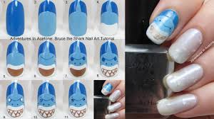 finding nemo nail art by taralr on deviantart finding nemo by