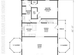 log home plan 07823 katahdin cedar log homes floor plans