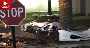 corvette car crash corvette z06 filmed crashing into tree while leaving scottsdale