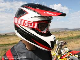 motocross helmet reviews 2010 thor force composite helmet review motorcycle usa