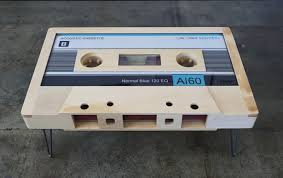 cassette tape coffee table for sale these retro cassette tape coffee tables are awesome twistedsifter