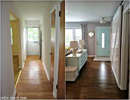 Entry Room Design Retro Ranch Reno Our Rancher Before After The Entrance