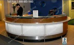 Modular Reception Desk Reception Moveable Casework Workstation Millwork Furniture Photos