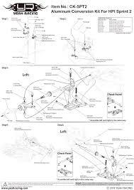 for hpi sprint 2 orange spt2 s01or free ship spt2 s01or by