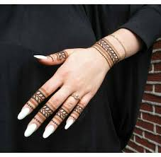 simple mehndi designs for fingers with lastest creativity in