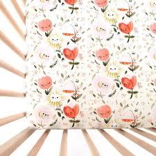 best 25 coral crib sheet ideas on pinterest bedding