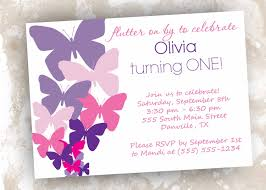 marvelous butterfly birthday invitations template all cool