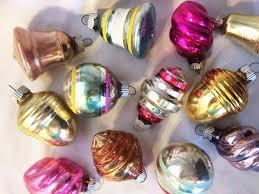 1950s vintage iob dozen shiny brite ornaments 12