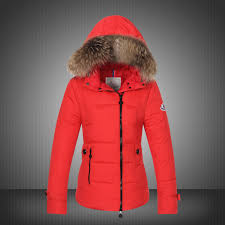 moncler bryone down jacket for women red new arrival uk on sale