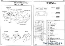 toyota land cruiser station wagon wiring diagram repair manual