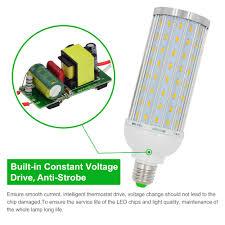 mengsled u2013 mengs anti strobe e27 35w led corn light 128x 5730 smd