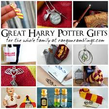harry potter gifts for the whole family gun ramblings