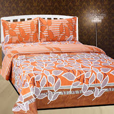 set of 3 cotton rich bed sheet with 6 pillow covers bed sheets