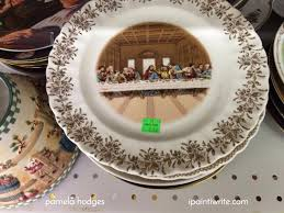 sanders mfg co lord s supper plate where did the last supper plate at the thrift store come from