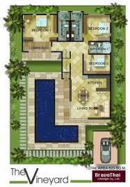 villa plan lay4524 tropical modern villa with 3 bedrooms phuket buy house