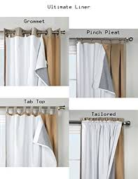 Blackout Curtains Liner 101 Thermalogic Ultimate Blackout Insulated