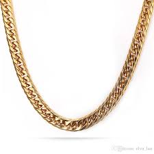 2015 men s jewelry 8mm 60cm new arrival new arrival mens gold chain 7 5mm wide 24inch stainless steel gold