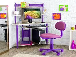 Pink Computer Desk Desk For Room Room Ideas Pink Purple Corner