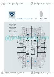bay central west tower floor plans justproperty com floor plans for bay central west tower