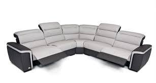 Black Leather Sectional Sofa Recliner Splendid Black Leather Reclining Sectional Sofa With Sectional