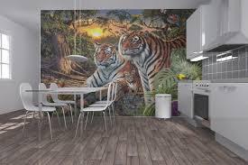 hidden images tigers wall mural photo wallpaper photowall