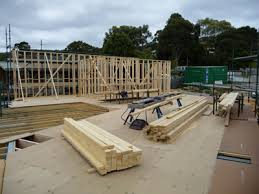 how to build a floor for a house how a house frame is erected build