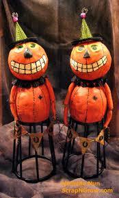 halloween figurines lori mitchell 184 best folk art papier mache clay images on pinterest paper