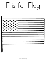 us flag coloring pages f is for flag coloring page twisty noodle