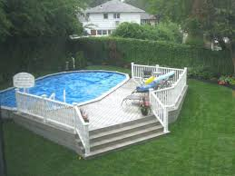 Deck Estimates Per Square by Above Ground Pool And Tub Deck Ideas Deck For An Above Ground