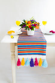 Mexican Table Runner Guest Post Mexican Inspired Diy Table Runner Zazzle Blog