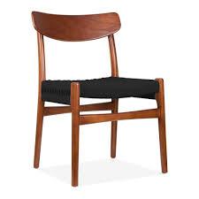 Esszimmerstuhl Braun Danish Designs Style Ch23 Esszimmerstuhl Braun Schwarz Sitz