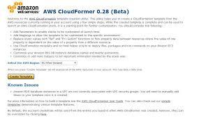 amazon web services cloudformation part 5 cloudformer