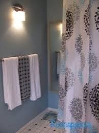 black and white shower curtain foter