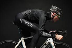 ekoi black and chrome elegance dry thermal jacket