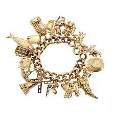 charm bracelet gold vintage images 84 best vintage gold charm bracelet images vintage jpg