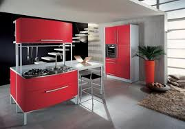 50 plus 25 contemporary kitchen design ideas red kitchen cabinets