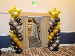 balloon columns balloon column with 90cm foil shape
