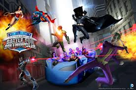 Six Flags In California Address Six Flags Magic Mountain Launching Justice League Ride With
