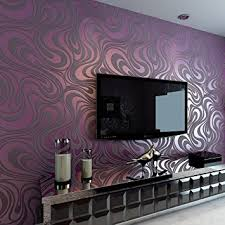 3d Wallpaper For Bedroom Amazon Com Hanmero Modern Minimalist Abstract Curves Glitter Non