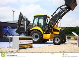 backhoe loader from mahindra construction equipments editorial