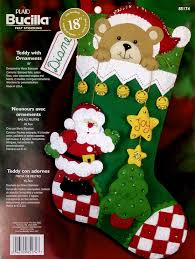 Teddy Bear Christmas Decorations by Teddy Bear With Ornaments 18