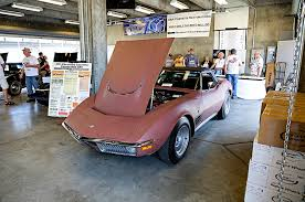 rose gold car 2016 bloomington gold corvettes c2 c3 corral rose gold 1971