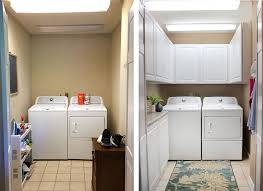 laundry room makeover small laundry room made beautiful