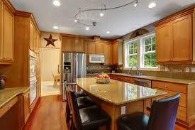 Kitchen Island Track Lighting Chic Track Lighting For Kitchen Island Kitchen Design Of Kitchen