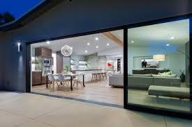 modern sliding glass door home design modern exterior sliding glass doors for motivate