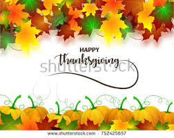 set happy thanksgiving day web banners stock vector 503618578